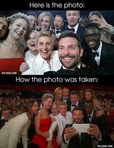 Oscar's 2014 selfie