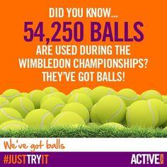 Here's something interesting! #wimbledon #fact