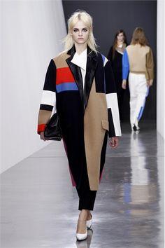 Color-block Céline Paris - Collezioni Autunno Inverno 2012-13 - Vogue