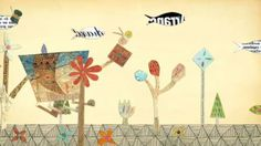 Keitaro Sugihara is a young and talented Japanese artist, designer and children's books author . I am very fond of his collage illust. Kids Collage, Collage Art, Perfect Gif, Perfect Video, Japanese Artists, Conte, Book Authors, Teacher Resources, Art Lessons