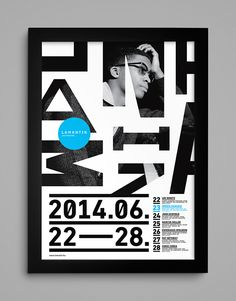 Identity design for a Hungarian jazz festival. Graduation project of Dániel Nagy at the Hungarian University of Fine Arts