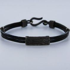 Fitbit Flex, Fashion, Leather Bracers, Black Leather, Fashion Bracelets, Men's Leather, Man Women, Silver, Crystals