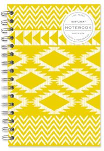 Lined Notebook in Kilim Weave