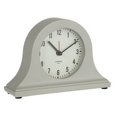 Buy John Lewis Croft Mini Mantel Clock Grey Online At Johnlewis