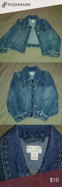 3T jean jacket Jean jacket in good condition  No rips, stains. Pet and smoke free home Children's Place Jackets & Coats Jean Jackets