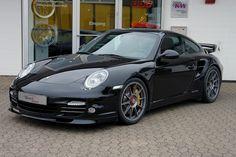 "Porsche 997 Turbo S on Superforgiata Central Lock 19"""