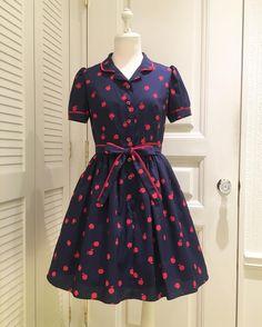 """""""アップルのシリーズが入荷しました♡ Little アップル dress ¥24,800+tax"""""""