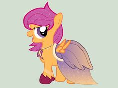 Scootaloo - Gala Dress by miesmauz.deviantart.com on @deviantART