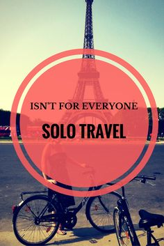 Solo travel isn't for everyone -  Juliette Sivertsen shares why she's decided that it isn't for her.  via…