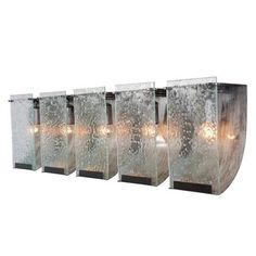 Varaluz Rain Five Light Bath Sconce | 2Modern Furniture & Lighting