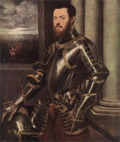 Man in Armour - Tintoretto, c.1550