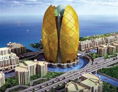 Donald Trump To Build Tulip-Shaped Hotel In Dubai Cheap Hotels In Dubai, Dubai Hotel, Dubai Uae, Interesting Buildings, Amazing Buildings, Cool Places To Visit, Places To Travel, Dubai Holidays, Visit Dubai