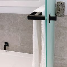 """We love receiving feedback from our happy clients: """"The range of black accessories is not only stylish but super funky and sophisticated. They totally transformed our bathroom and go perfectly with all our sanitary-ware. Thank you – Jamie-Lee Rosenberg Jamie Lee, Toilet Brush, Brushed Stainless Steel, Range, Bathroom, Stylish, Happy, Accessories, Black"""