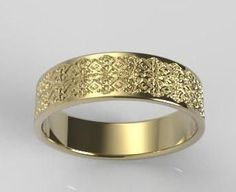 Mens Gold Wedding Ring, Mens Wedding Band, Unique Wedding Ring, Mens Ring Gold, Mens Rings, Wedding Band Mens, Wedding Band Men, Geometric