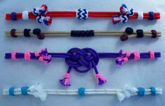 Y-Knot rope tack browbands