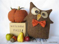 Brown Wool Owl