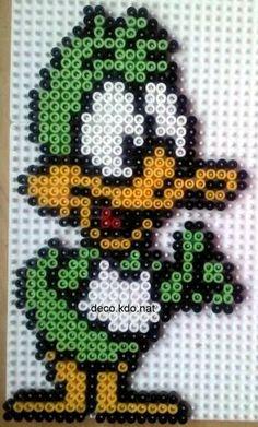 DECO.KDO.NAT: Perles hama: daffy duck bébé