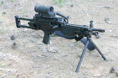 Light machine gun 5.56mm FN MINIMA