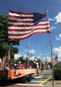 Stoughton Fourth of July Parade. Brockton, MA - The Enterprise