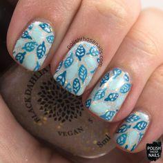Polish Those Nails: Oh Mon Dieu 3 - Leaves