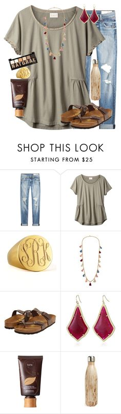 """follow 4 follow back"" by emmagracejoness ❤ liked on Polyvore featuring rag & bone, EAST, Sarah Chloe, Ben-Amun, Birkenstock, Kendra Scott, tarte, S'well and NYX"