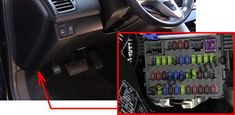 fuse box diagram (location and assignment of electrical fuses) for acura rdx