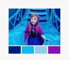 Anna color palette