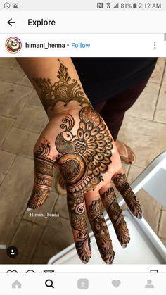 Simple Floral Mehndi Henna Designs For Hands - ArtsyCraftsyDad Rajasthani Mehndi Designs, Peacock Mehndi Designs, Simple Arabic Mehndi Designs, Mehndi Designs For Beginners, Modern Mehndi Designs, Dulhan Mehndi Designs, Wedding Mehndi Designs, Mehndi Designs For Fingers, Mehndi Design Images