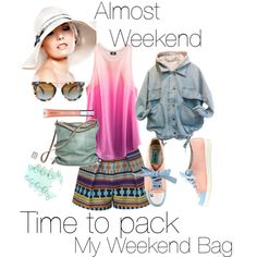 """Almost Weekend"" by ella-gajewska on Polyvore"