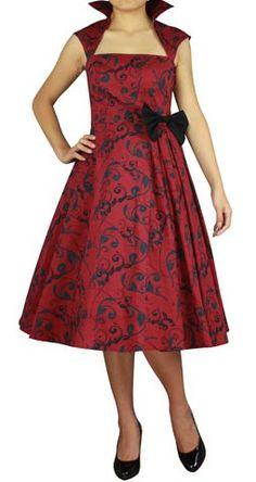 Betty Red Flower -mekko Punaisia Kukkia 29fe2dafe4