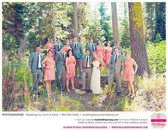 Featured Real Wedding: Rachel & Jerad is published in Real Weddings Magazine's Summer/Fall 2015 Issue! Vendors include: www.weddingsbyscottanddana.com. For more photos and their full list of wedding vendors, visit: www.realweddingsmag.com/?p=50950