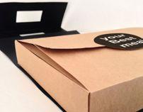 food take away box w/bag