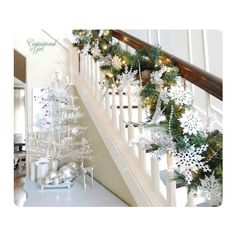 Our Home for the Holidays ❤ liked on Polyvore featuring backgrounds, christmas, home and room