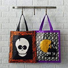 Whipping up a one-of-a-kind tote for them to store all their treats doesn't have to be tricky. Here are 12 ideas you can make at home.