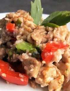 Vaříme bez tuku: Pohanka s kuřecím masem a zeleninou