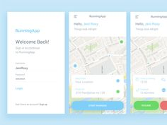 Day 1 - Running App  by Panggih Giri Samudra