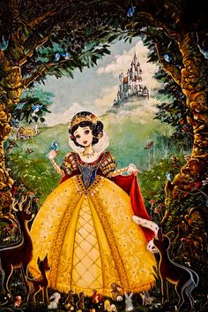 Snow White Murals that can be recreated for you! https://www.facebook.com/DecoHavenArtistry