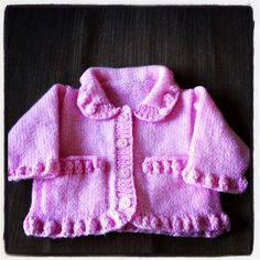 Girls Jacket with bubble edging made for our very own Lady P