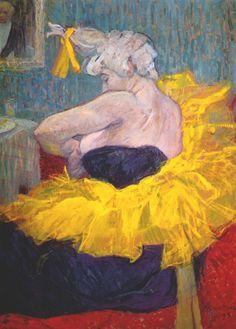 """Cha-U-Kao"" Henri de Toulouse-Lautrec"