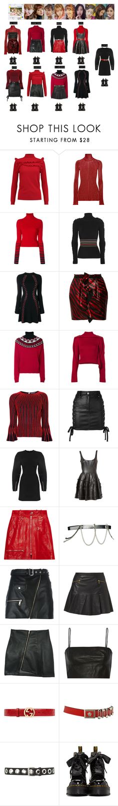 """""""TWICE - LIKEY❤️"""" by vvvan99 ❤ liked on Polyvore featuring Madeleine Thompson, E L L E R Y, Tommy Hilfiger, Roksanda, Alexander McQueen, Isabel Marant, Fendi, Y/Project, Versus and ASOS"""