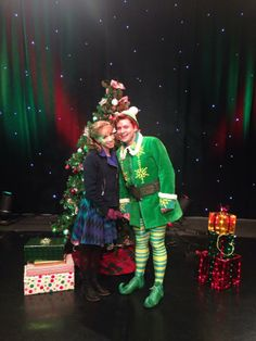 Elf The Musical performance at WGN News