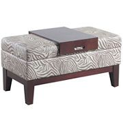 Bombay Riley Storage Bench