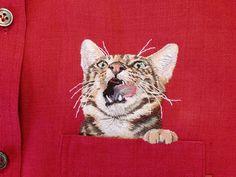 #animal #animais #estimação #bordado #roupa