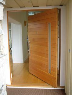 Piedmont Pivot - modern - front doors - san francisco - Artistic Millworks