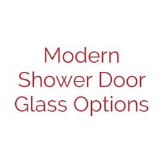Contemporary design or modern design is very popular for bathroom interior design. Re-Bath Omaha has a lot of product options to fit this style whether you are doing a master bathroom remodel or small bathroom remodel. These glass options (not all options available shown) are just a taste of what is available to give your bathroom makeover extra style. Modern Shower Doors, Glass Shower Doors, Small Bathroom, Master Bathroom, Contemporary Design, Modern Design, Bathroom Interior Design, Popular, Fit