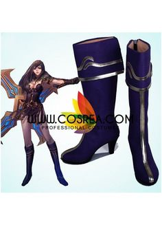 League of Legend Sivir Cosplay Shoes