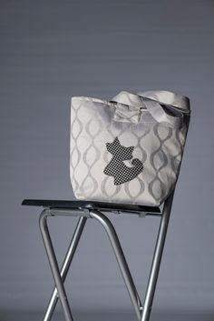 Limited edition handmade tote bag for cat lovers