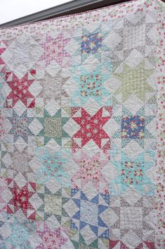 La Conner Stars – Free Pattern! | Quilting in the Rain