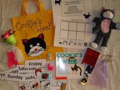 make cookies or buy cookies to put in bag Literacy Bags, Preschool Literacy, Literacy Centers, In Kindergarten, Letter C Activities, Work Activities, Classroom Activities, Classroom Ideas, Famous Quotes On Teachers