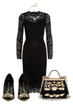 """""""Leah"""" by karon-stylez on Polyvore featuring Dolce&Gabbana"""